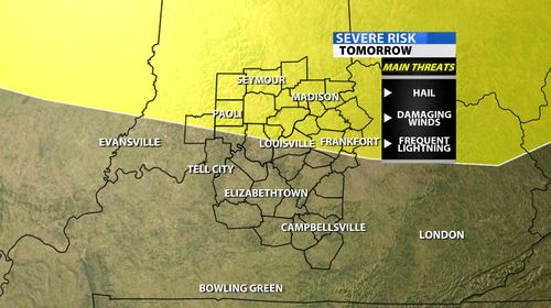 Risk Of Severe Weather For Tomorrow    My Thoughts - Weinberg's