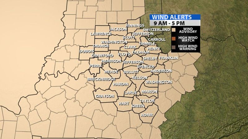 Wind Advisory For Sunday - WDRB Weather Blog