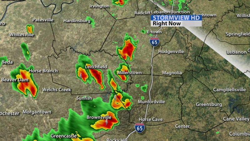 Radar Update** Warnings Cancelled, Strong Storms Continue  - WDRB