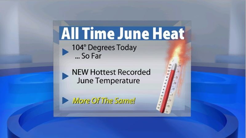 All Time Record Broken AGAIN for June! - WDRB Weather Blog