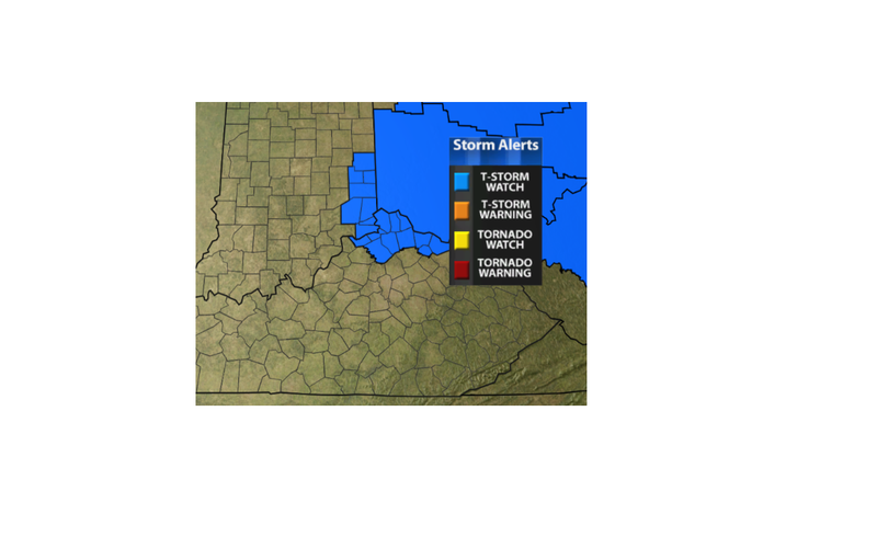 Severe T-Storm Watch - WDRB Weather Blog