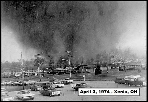 Xenia, Ohio Tornado of the Super Outbreak