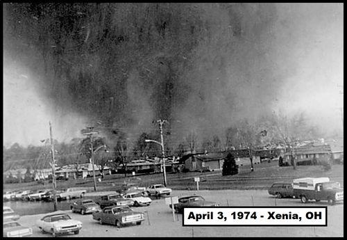 Xenia, Ohio Tornado of the Super Outbreak