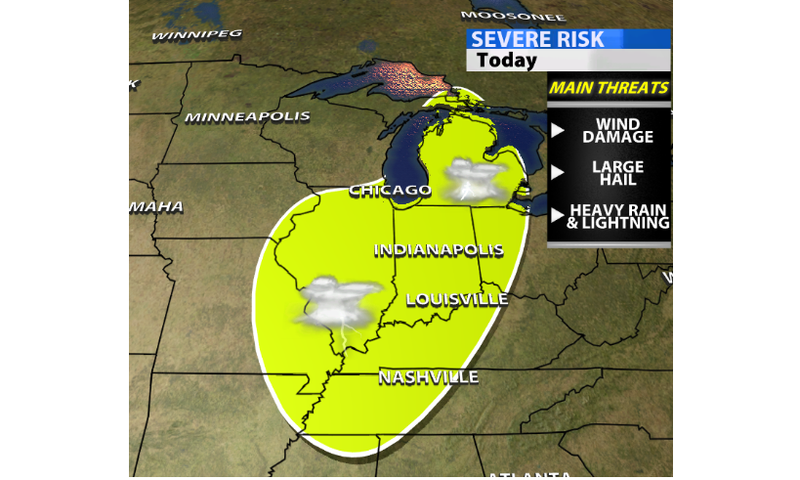 TODAY'S BLOG: **Severe Weather Possible** - WDRB Weather Blog