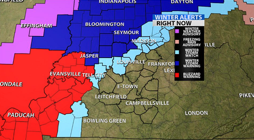New Areas Included In The Winter Storm Watch - WDRB Weather Blog