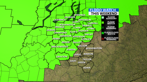 Flood Warnings Posted For Parts of Our Area    - WDRB Weather Blog