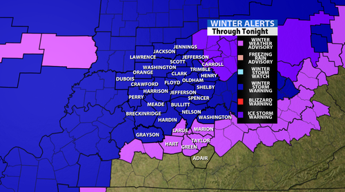 Winter Storm Continues To Pound Our Area With Freezing Rain! Updated