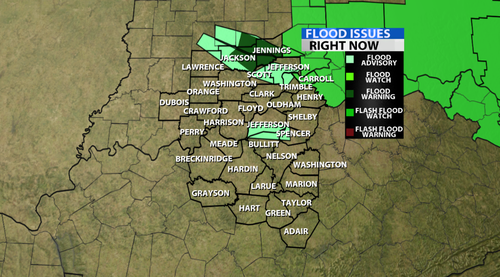 Flooding Warnings Have Been Posted! - WDRB Weather Blog