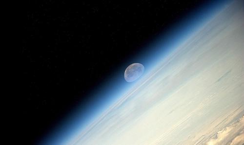Sqooshed moon