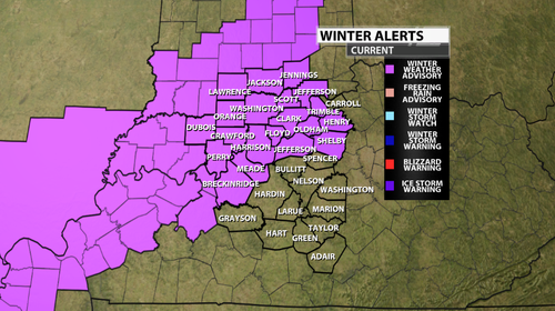Winter Advisories/Warnings Expected to be Issued! - WDRB