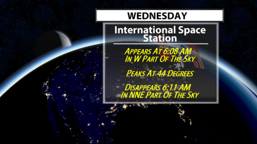 See LIVE views from ISS! Next Crossing Coming Soon!! - WDRB Weather Blog