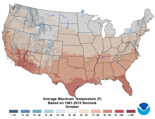 October-Average-Maximum-Temperature-Based-on-1981-2010-Climate-Normals