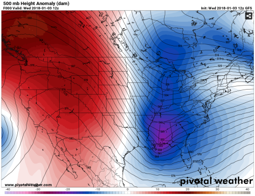 Long Range Models Hint At Mid Month Warm Up Wdrb Weather Blog