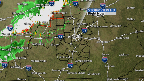 Severe T Storms Are Moving In With 60 Mph Winds The