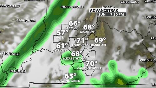 Timing and Strength of Easter Sunday Storms - WDRB Weather ...