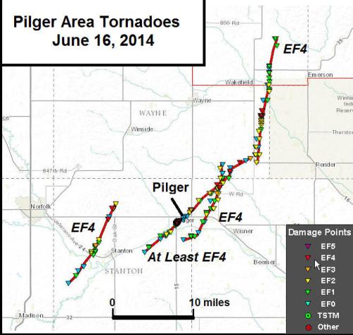 Pilger tornado