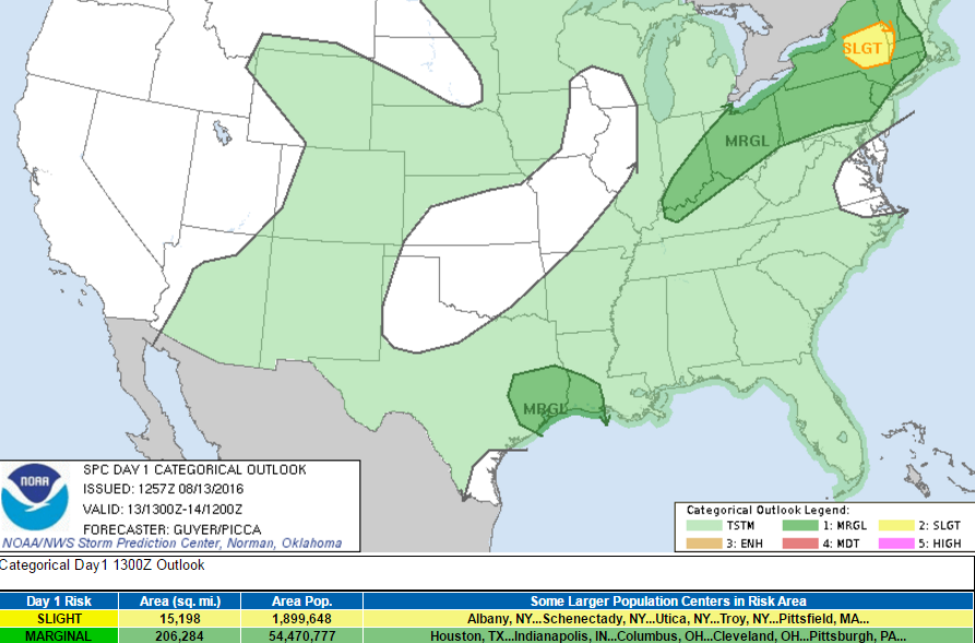 Heavy Rain and Flash Flooding Possible and Gusty Winds, Oh