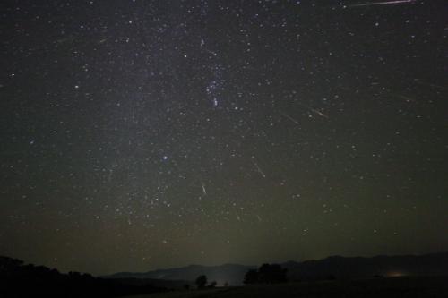Orionid metor 2