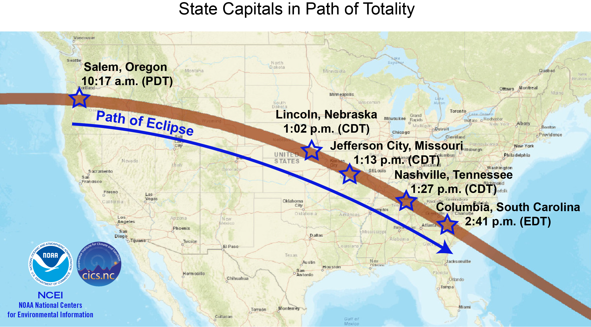 Total Solar Eclipse 2017 Historical Chance For Cloudiness Wdrb