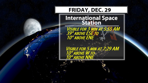 5 Chances to See the ISS in the Next 3 Days - WDRB Weather Blog