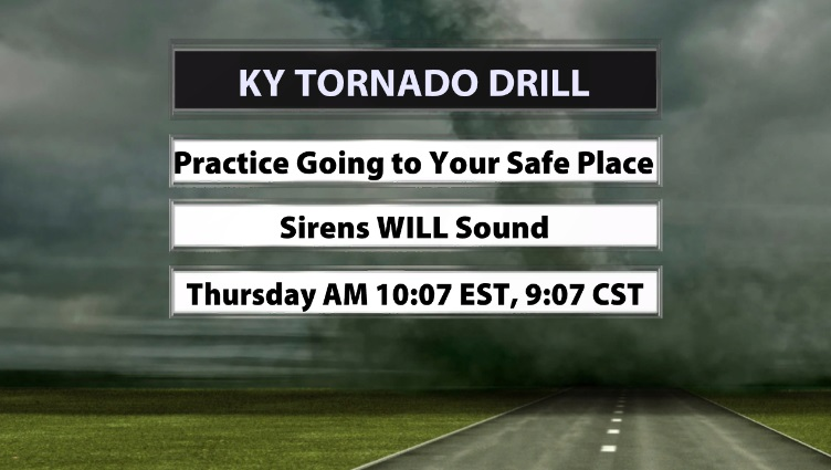 Kentucky Statewide Tornado Drill - WDRB Weather Blog